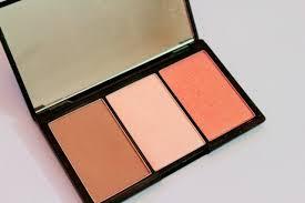 sleek makeup face form fair 378 contouring and blush palette