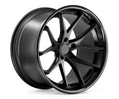 matte black ferrada fr2 20 9 matte black w gloss black lip