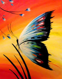butterfly painting ideas zippered info