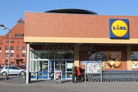 si e lidl lidl store editorial photo image of europe business 54351096