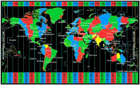 utc zone map black zone map on cloth with standard zones