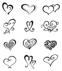 girly tattoos simple heart tattoos easy tattoos and heart