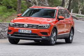 volkswagen 7 passenger suv vw tiguan allspace 2017 review by car magazine