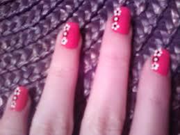 kiely nail art simple flower nails