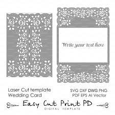 roses lace crochet doily wedding invitation 5x7