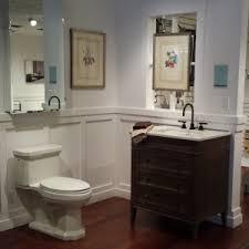 Ferguson Vanities Bathroom Simple Ronbow Marble Vanities Design With Brass Faucet