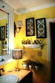 Yellow And Grey Bathroom Ideas Yellow Bathroom Decorating Ideas Bright And Yellow Ideas For