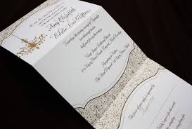 tri fold wedding invitations wordings tri fold wedding invitations create your wedding