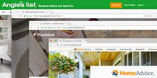 Home Advisor by Compare Angie U0027s List Home Advisor Thumbtack And Yelp For