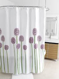 Purple And Brown Shower Curtain Amazon Com Splash Home Shower Curtain 70 By 72 Inch Allium