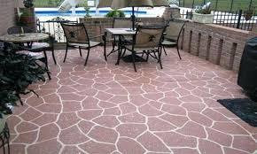 Outdoor Flooring Ideas Magnifique Outdoor Flooring Ideas Concenrete Patio Floor Best