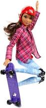 barbie move skateboarder dvf70 barbie