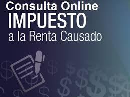 lista blanca sri ecuador consulta online impuesto renta causado sri