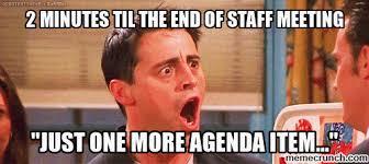 Agenda Meme - item