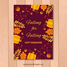 happy thanksgiving day invitation vector free