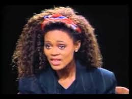 robin givens hair robin givens talks about her public marriage with mike tyson 1988