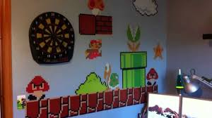 super mario bros vinyl wall graphics youtube super mario bros vinyl wall graphics