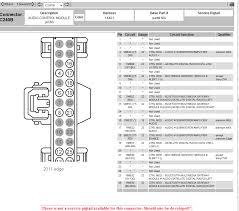 ford fiesta audio wiring diagram ford free wiring diagrams