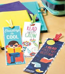 free printable bookmarks for kids diy bookmarks joann