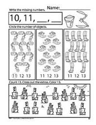 Grade 1 Counting To 20 Worksheets Counting 11 20 Worksheets Free Worksheets Library And