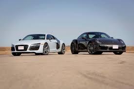 Audi R8 Turbo - 2014 audi r8 v10 plus vs 2014 porsche 911 turbo youtube