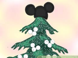 how to decorate a disney themed tree 6 steps