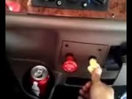 peterbilt dash warning lights peterbilt 387 cummins isx regen light youtube