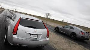 hennessey cadillac cts v wagon hennessey pits cadillac cts v sport wagon against last