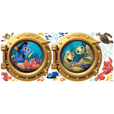finding nemo giant wall decals wall2wall other angles of finding nemo giant wall decals
