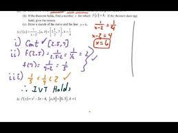 calc limits intermediate value theorem video 1 youtube
