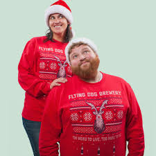ugly christmas sweater party flying dog breweryflying dog brewery