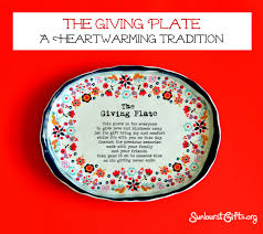 it s your special day plate the giving plate a heartwarming tradition thoughtful gifts