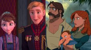 frozen u0027s king queen tarzan u0027s parents