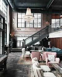 Best  Loft Cafe Ideas On Pinterest Industrial Dining Black - Interior design homes photos
