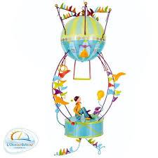 mobile chambre enfant suspension ou mobile en métal tambour pour enfant décoration chambre