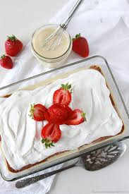 tres leches cake is a classic made easy with a cake mix www
