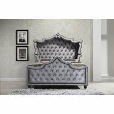 Black King Canopy Bed Furniture Hudson Grey Velvet King Canopy Bed Hudson Canopy K