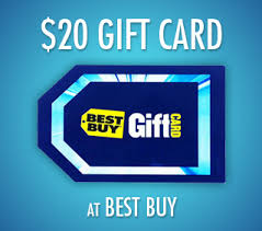 20 dollar gift card anyluckyday best buy