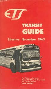 edmonton alta 1963 ets transit guide 1963 11 by edmonton