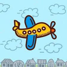 imagenes animadas de aviones ilustración de dibujos animados de aviones archivo imágenes