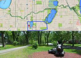 Moa Map Diamond Lake Neighborhood Unsung Gem Of South Minneapolis And