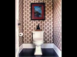 bathroom with wallpaper ideas small bathroom wallpaper ideas youtube