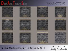 Marble Interior Walls Second Life Marketplace Formal Marble Wall Textures Interior