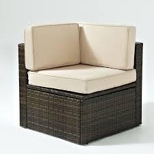 Patio Club Chairs Crosley Palm Harbor 3 Piece Outdoor Wicker Patio Bar Set Hayneedle