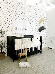 Black White Interior by Jessica Alba U0027s Honest Company Headquarters Black U0026 White Nursery