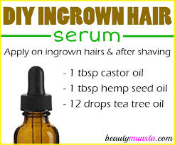 essential oil for ingrown hair diy ingrown hair serum recipe beautymunsta