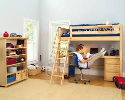 Free Loft Bed Woodworking Plans by Free Loft Bed With Desk Plans Home Design Ideas