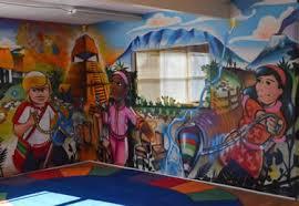Amazing Spray Paint - la plazita preschool location