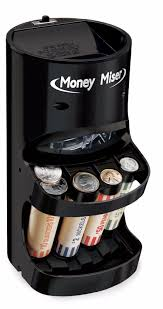 coin counter money coin sorter electric motorized change wrapper roller counter