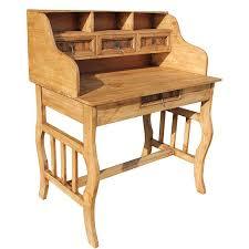 Mexican Pine Bookcase Rustic Pine Collection Lira Desk W Hutch Esc13